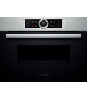 CMG633BS1  Bosch Inox Compact oven+microwave 45L