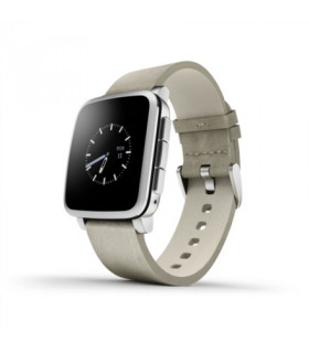 PEBBLE Time Steel Smartwatch hõbedane